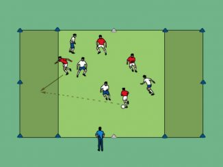 esercitazione calcio categoria giovanissimi
